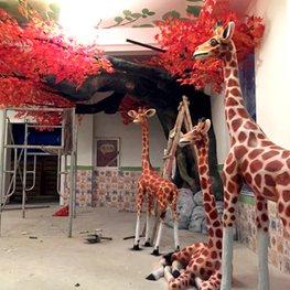 红谷滩联泰香域中央幼儿园-相府幼教集团-水泥雕塑