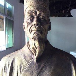 国酒祖师李时珍江西锻铜雕塑厂家案例-进贤李渡酒业