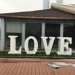 红谷滩泰耐克酒店景观提升-不锈钢雕塑