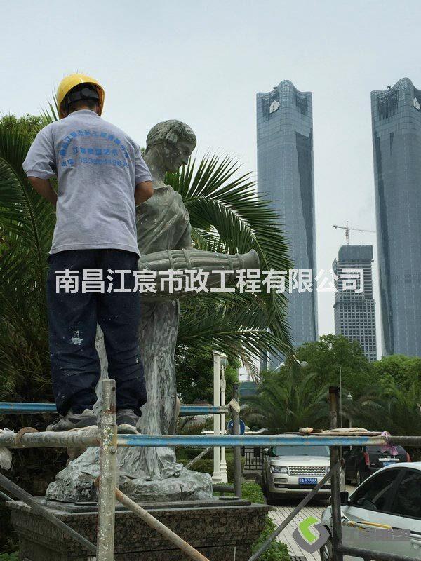 南昌红谷滩泰耐克国际大酒店雕塑工程