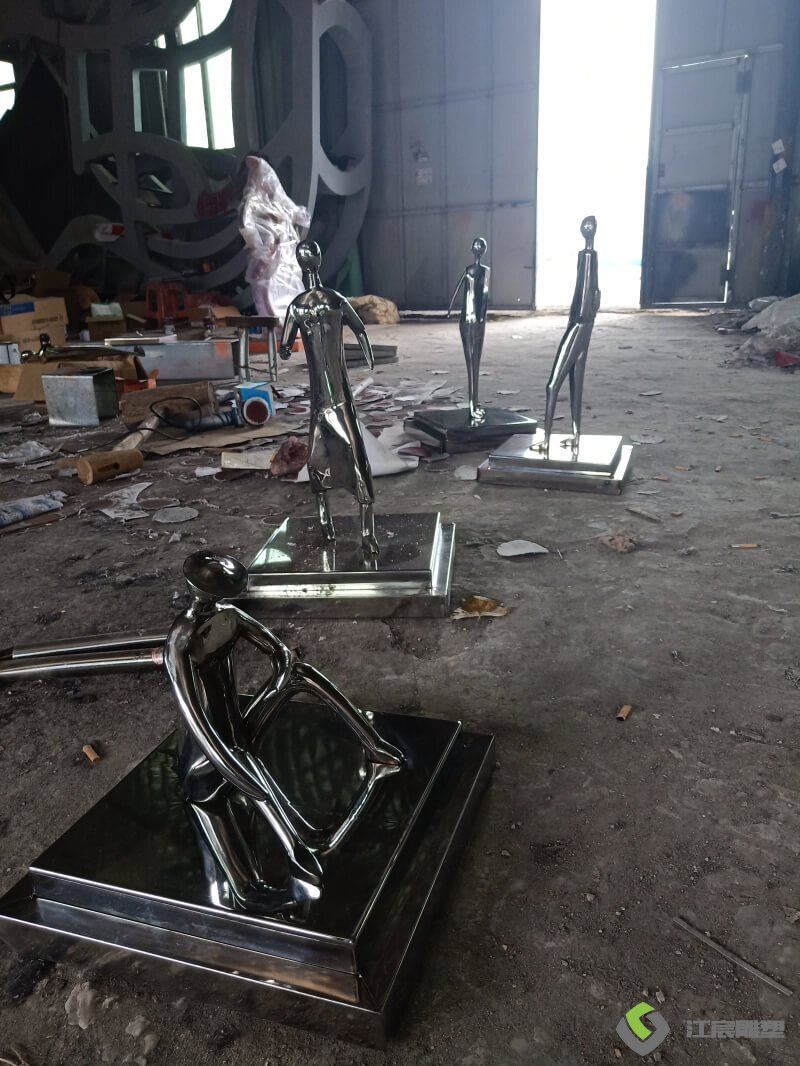江西南昌雕塑厂家桌面摆件不锈钢小样案例作品