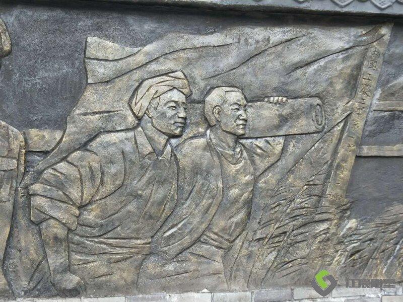 江西萍乡水泥浮雕案例