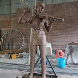 株洲绿地玻璃钢景观雕塑-江西南昌雕塑厂