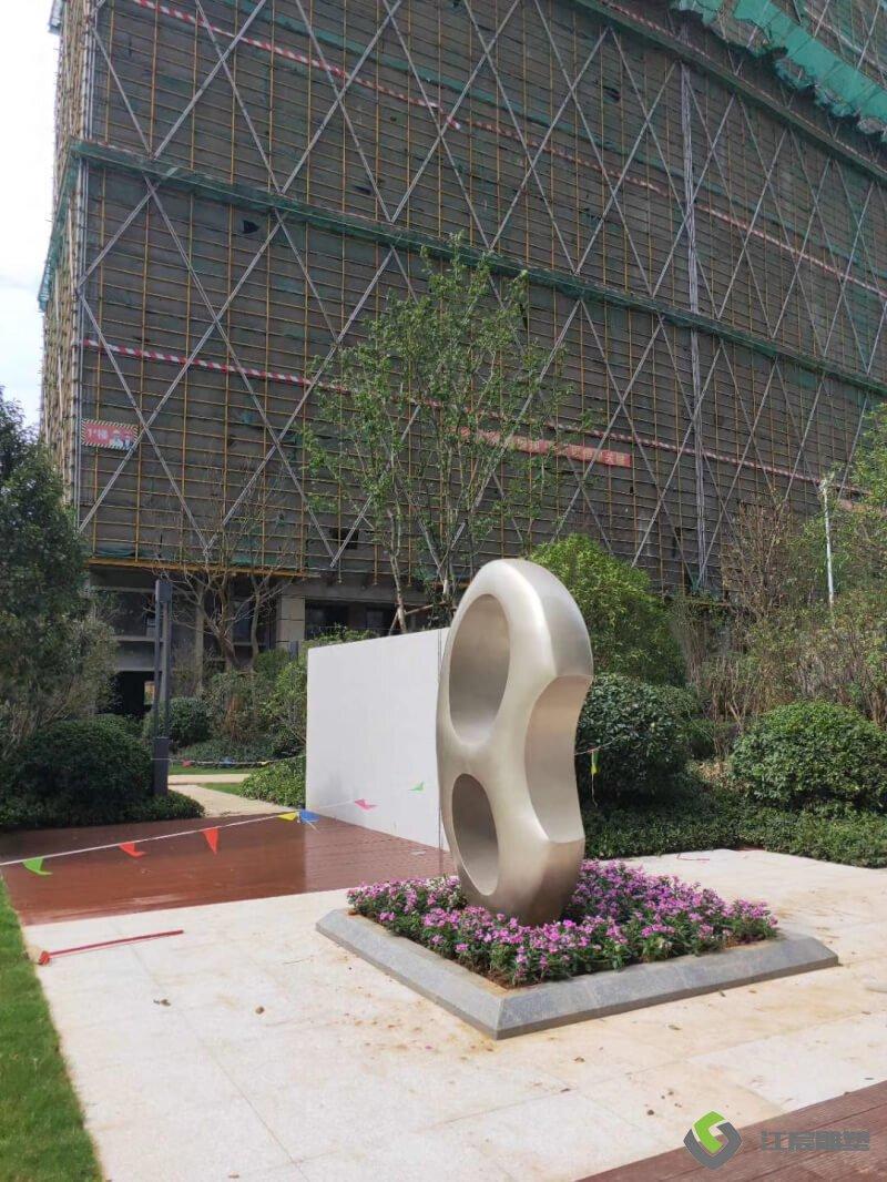 江西南昌雕塑厂:九江柴桑区--中奥-天悦湾楼盘墙体雕塑