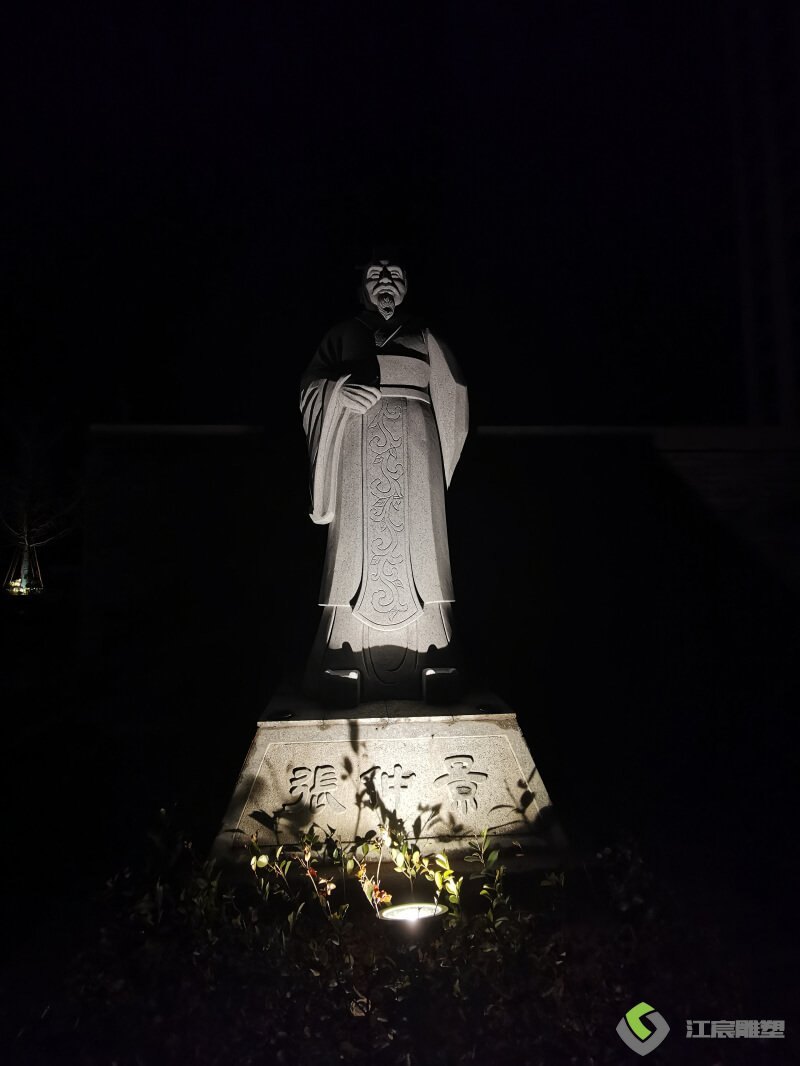江西雕塑:新干县中医院景观雕塑配套 动物人物雕像