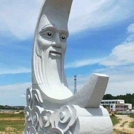 江西雕塑厂:抚州灵谷峰风景区花岗岩石雕