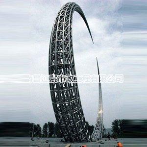 公园广场地标大型不锈钢雕塑景观建筑