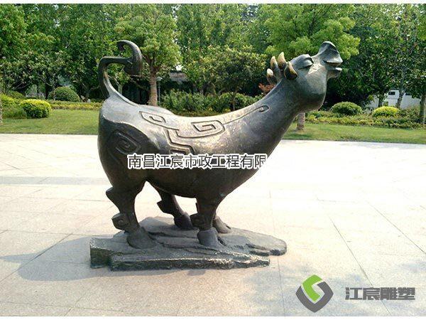 南昌雕塑厂家动物铸铜雕像