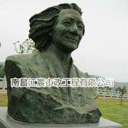 江西红军主题人物锻铜雕塑