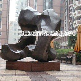 江西锻铜雕塑厂家:小区艺术造型雕塑