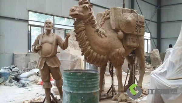 动物造型类玻璃钢雕塑-江西雕塑工厂