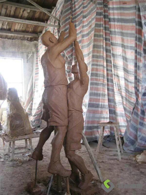 江西南昌塑像工厂:玻璃钢雕塑