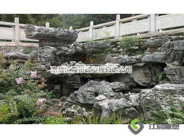 江西南昌雕塑工厂:水泥假山雕塑