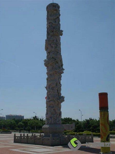 江西石材柱子雕塑 广场雕像景观