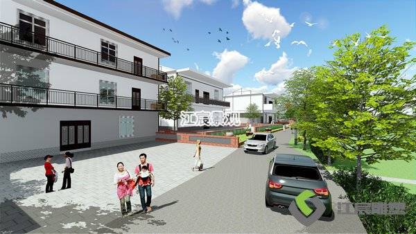 江西新农村设计施工景观改造升级项目