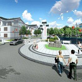 江西新农村设计施工厂家效果图-南昌雕塑厂