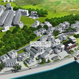 江西南昌市政设施厂家:新农村海景城市设计图