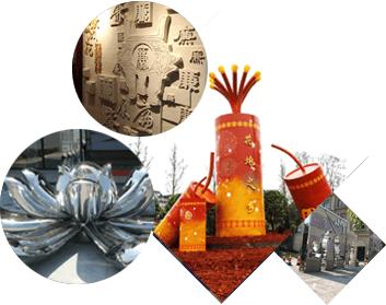 江西南昌雕塑工程厂家,城市雕塑,假山制作